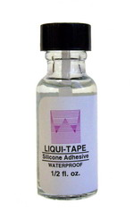 Walker Liqui-Tape Brush-On Hairpiece Adhesive 1/2 oz Bottle