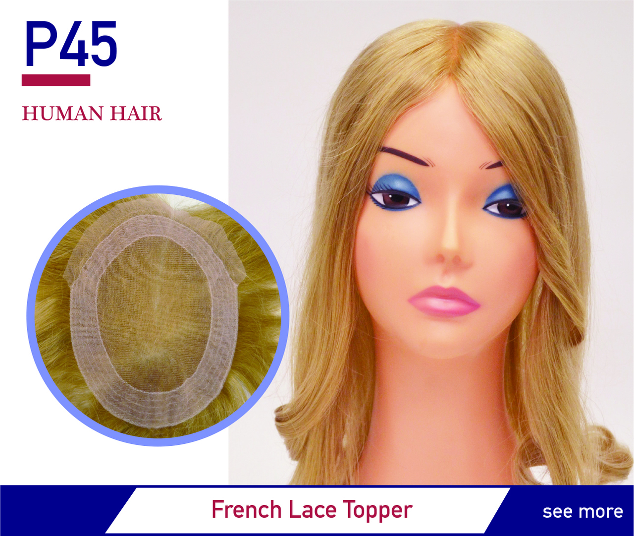 French Lace Lady's Hairpiece